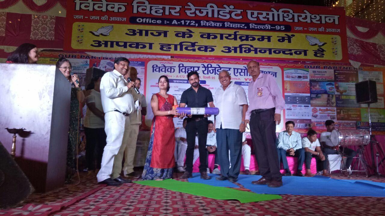 Diwali at RWA Vivek Vihar