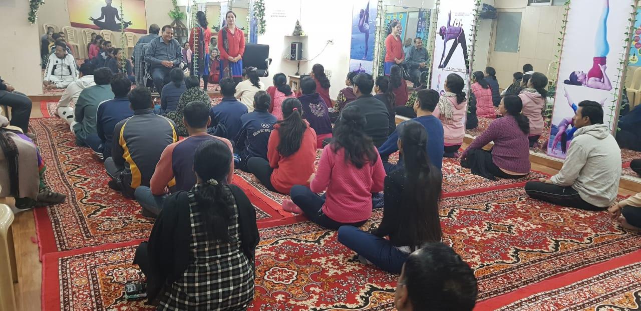 Meditation Camp At Center